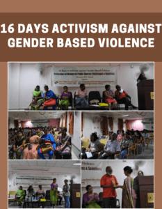 16 Days Activism against Gender Based Violence