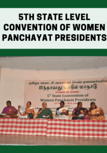 5th State Level Convention of Women Panchayat Presidents