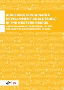 Achieving SDGs in the Western Region