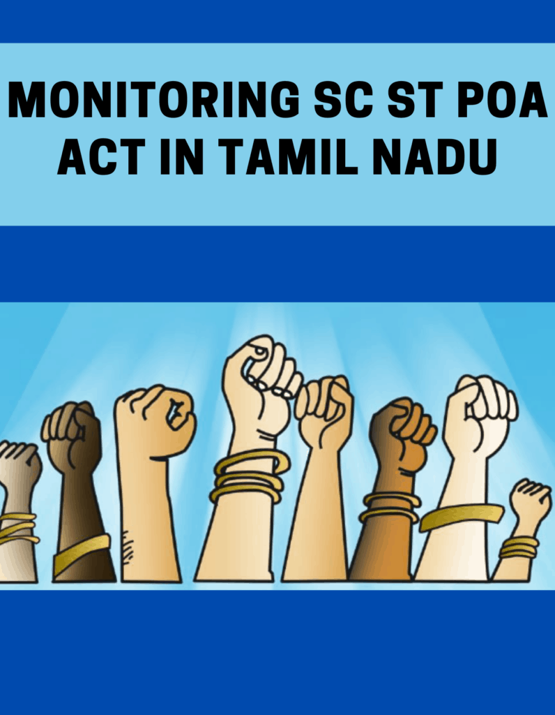 Monitoring SC ST POA Act in Tamil Nadu