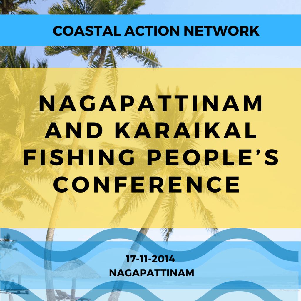Nagapattinam and Karaikal Fishing People's Conference