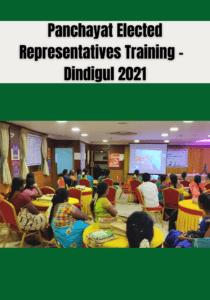 Panchayat ERs Training – Dindigul 2021