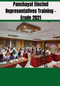 Panchayat ERs Training – Erode 2021