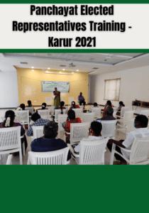 Panchayat ERs Training – Karur 2021