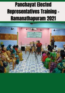 Panchayat Elected Representatives Training - Ramanathapuram 2021