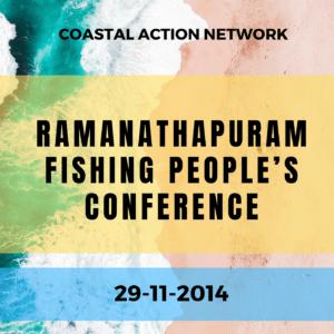 Ramanathapuram Fishing People's Conference on 29-11-2014, Ramanathapuram