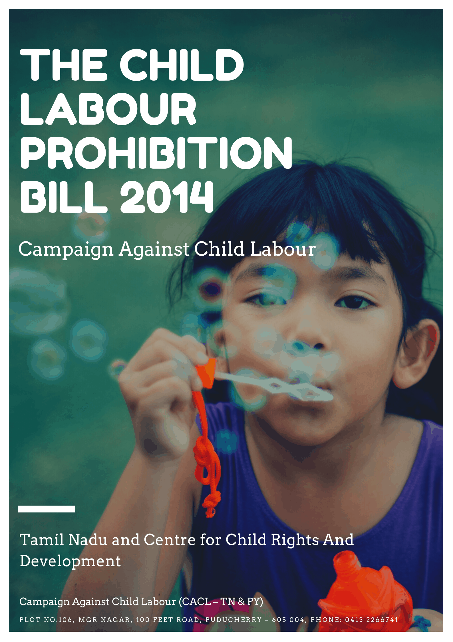 The Child Labour Prohibition Bill 2014