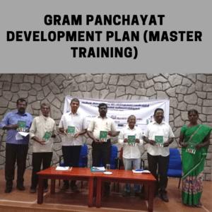 Gram Panchayat Development Plan (Master training)