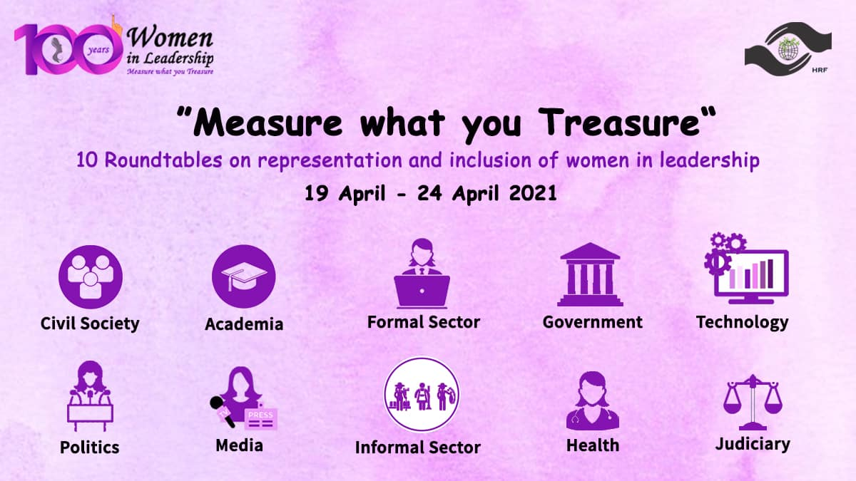 Measure what you Treasure – 10 Roundtables on representation and inclusion of women in leadership – 2021
