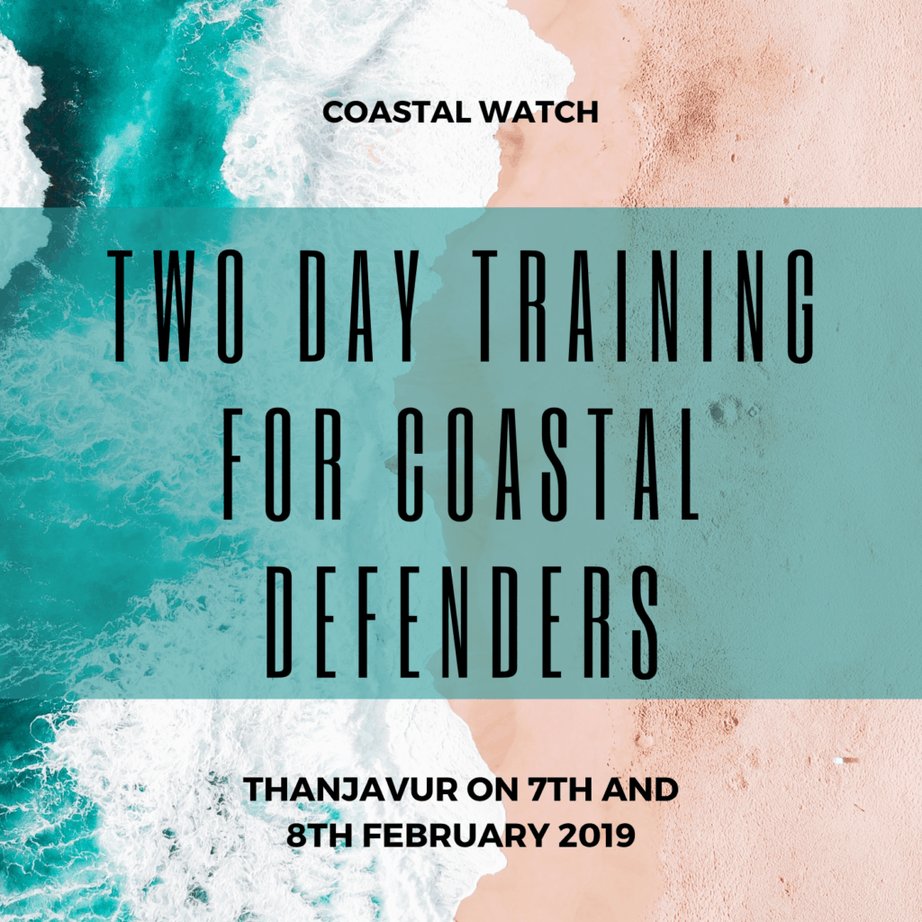 Two Day Training for Coastal Defenders