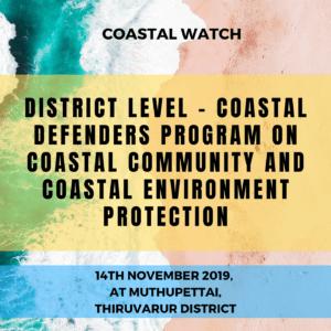 District Level – Coastal Defenders Program on Coastal Community and Coastal Environment Protection