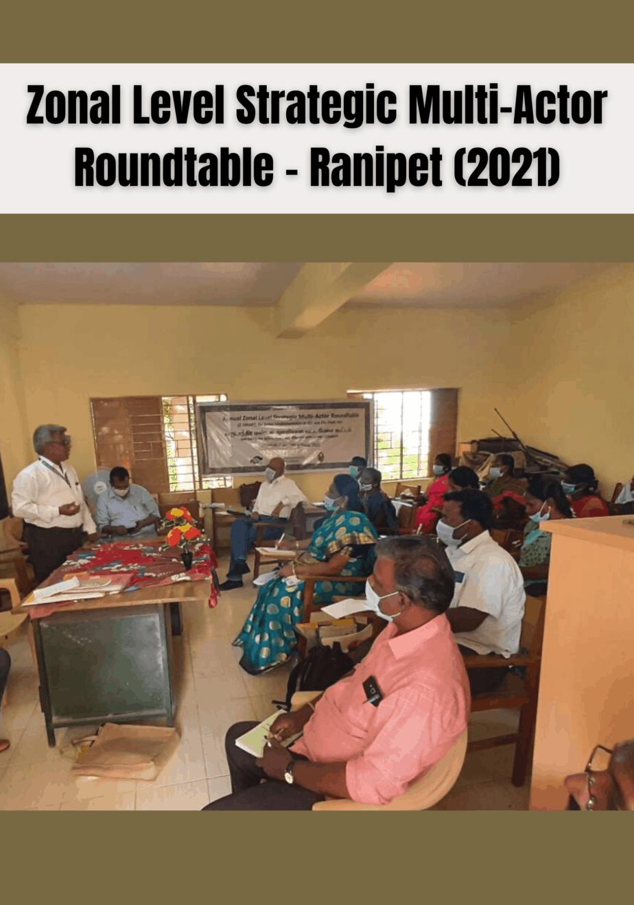 Annual Z-SMART 2021 – Ranipet