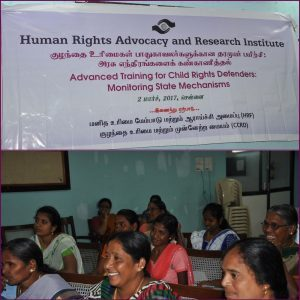 Advanced Training for Child Rights Defenders: Monitoring state mechanisms