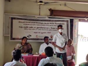 Zonal Level Strategic Multi-Actor Roundtable - Karur 2021