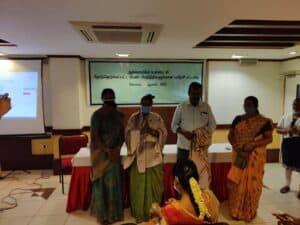 Panchayat Women Elected Representatives Training - Coimbatore 2021